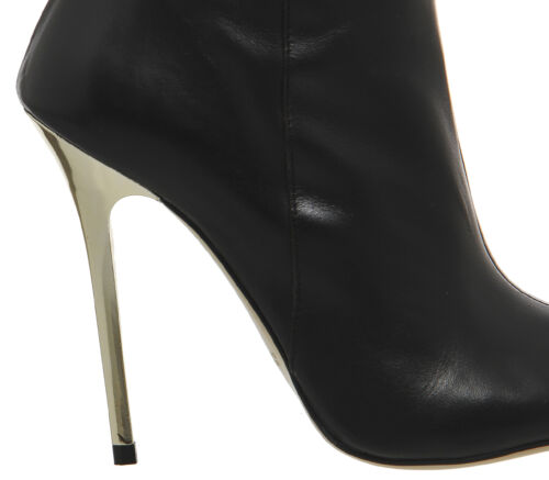 Boots Peep The 6 Black Over Iconic Toe Knee Thigh Office Otk Bnwob Leather 39 fYwKqzaO