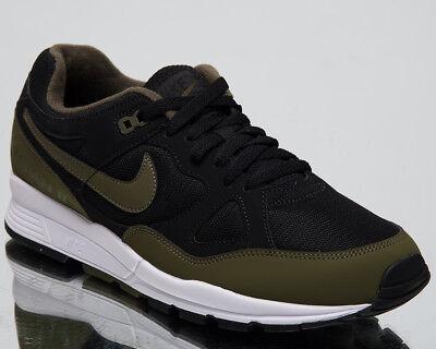 Nike Air Span II Lifestyle Shoes Black Oliva Canvas White Sneakers AH8047 011 | eBay