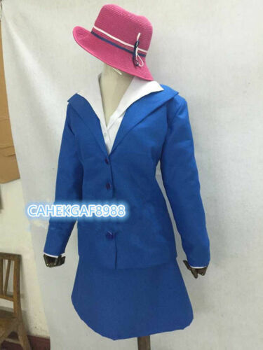 Agent carter Costume Play Cap//Chemise//Costume//jupe édition originale robe RR2