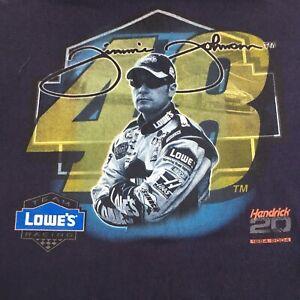 Chase 2004 NASCAR Jimmie Johnson 48 Hendrick Motorsports Lowes Racing T-Shirt XL