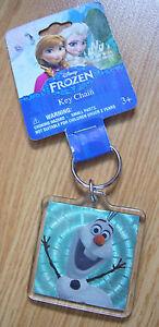 Disney-Frozen-Key-Chain-Key-Ring-Olaf-BNWT