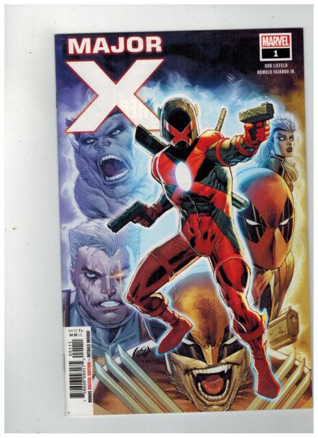 MAJOR X #1  1st Printing                                    / 2019 Marvel Comics