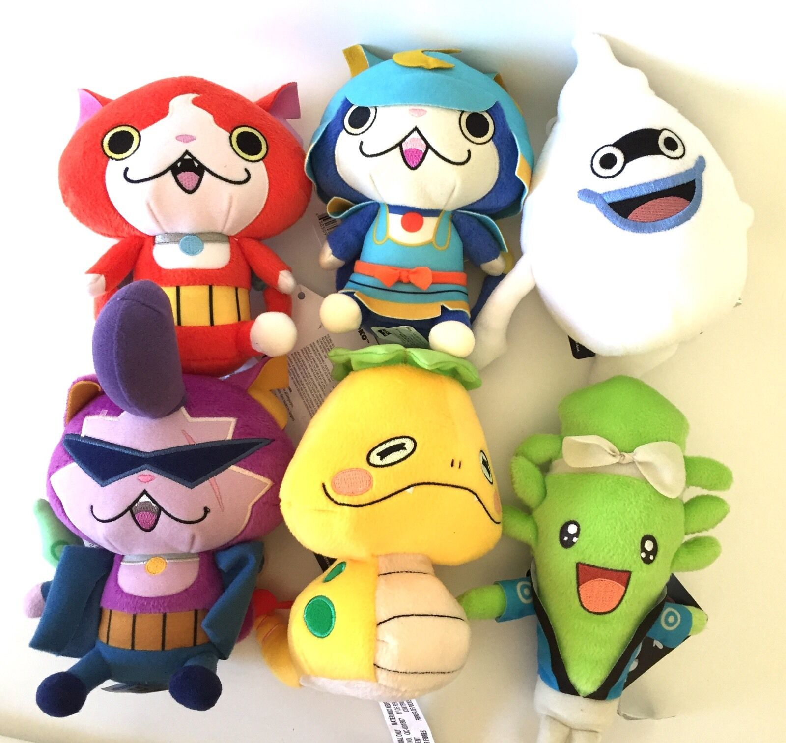 Yokai Yokai Yokai Watch Plush Complete Set Of 6 Mini Hasbgold Soft Stuffed Toy New Yo-Kai 48ff4a