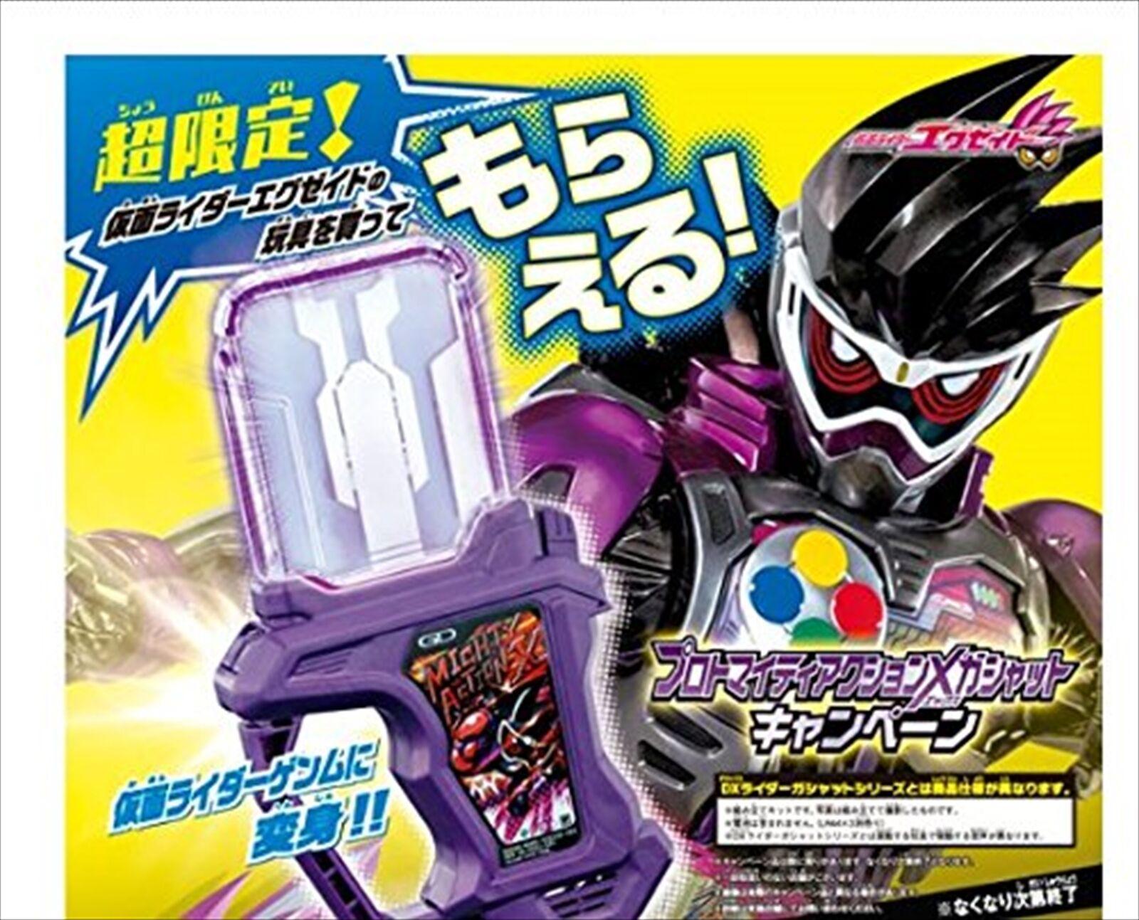 Masked Kamen Rider EX-AID Limited Proto Michty Action X Gashat