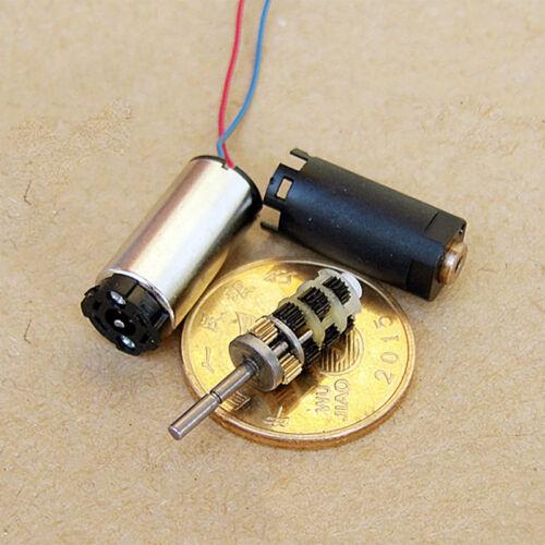Micro 8mm Coreless Planetary DC 3V~5V 30RPM Mini Precision Gearbox  Gear Motor
