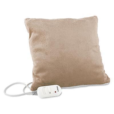 Almohada eléctrica dolores espalda Cojín térmico 2 controles temperatura lumbar
