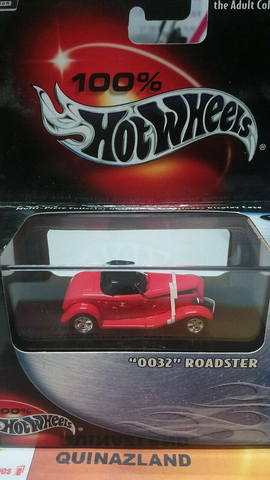 Hot Hot Hot Wheels 100% Collectibles 0032 Roadster (9005) 324d7a