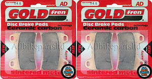 DUCATI * ST2 ST 2 * 944cc 2002 /> FULL SET BRAKE PADS /< SINTERED CERAMIC