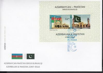 Asia Rational Azerbaijan Aserbaidschan Mnh** 2018 Mi.1417-18 Bl.216 Fdc Joint Issue Pakistan Making Things Convenient For The People