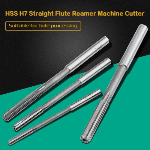 10x HSS H7 Straight Flute Reamer Machine Cutter Set 3//4//5//6//7//8//9//10//11//12mm New