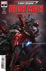 Tony-Stark-Iron-Man-11-Marvel-Comic-1st-Print-2019-Unread-NM-Lozano-Cover