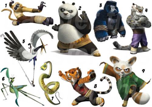 Kung fu panda sticker//sticker or transfer textile clothing t-shirt