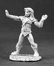 Peruhain Elven Monk Reaper Miniatures Dark Heaven Legends Elf Fighter Melee