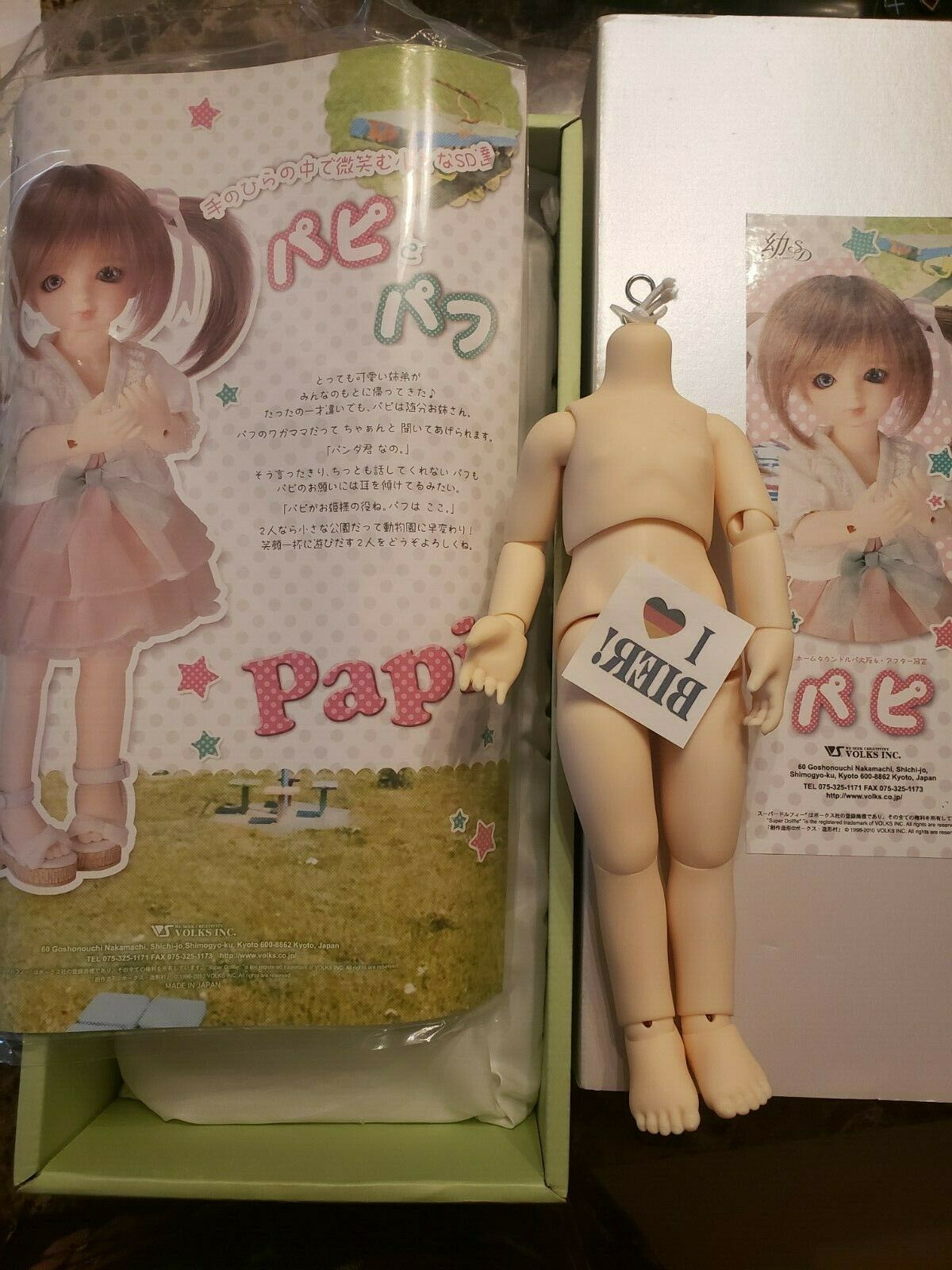 Volks Yosd Papi Body with Original Papers and Box