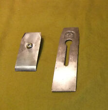 "Hearnshaw Bros, Sheffield 2.1/4"" Double Plane Iron, Tapered, Approx. 7.3/4"" Long"