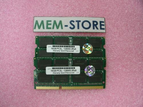 32GB SODIMM 2x16GB 1.35V DDR3L 1600MHz for Shuttle DH170 6TH GEN i3 i5 i7