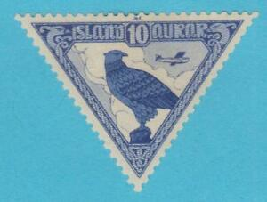 ICELAND-C3-AIRMAIL-MINT-HINGED-OG-NO-FAULTS-VERY-FINE