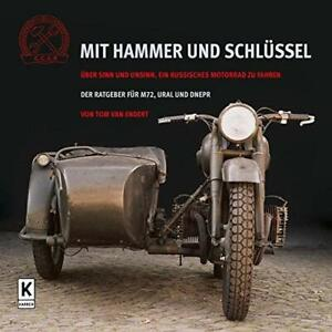 MIT-HAMMER-UND-SCHLUSSEL-Ural650-Seitenwagen-Motorrad-Ural-Gespanne-M72-Buch