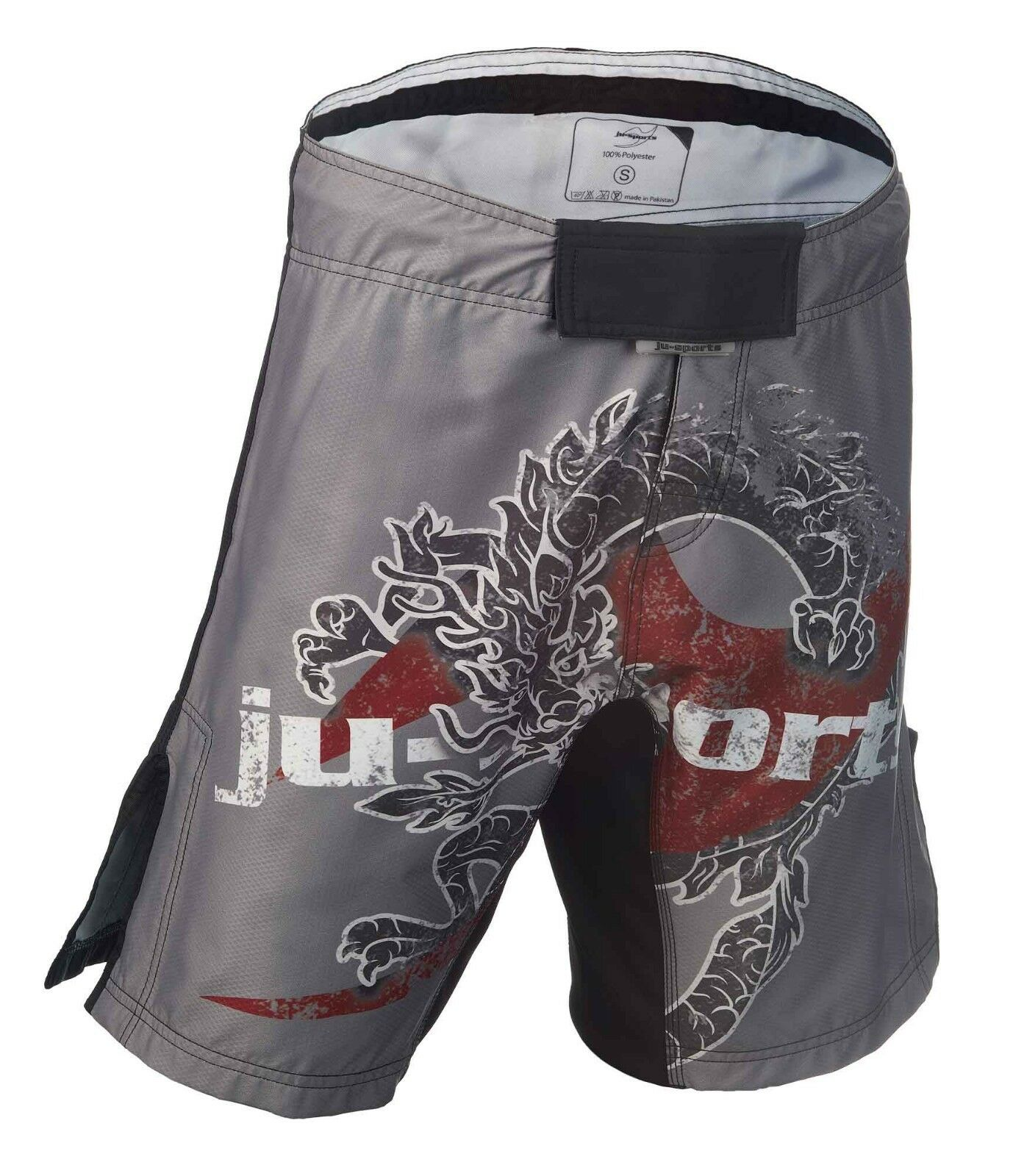 Ju-Sports Dark Line Fightshorts  Dragon  - Fight Short Short Short - MMA Hose - Grappling cc7914