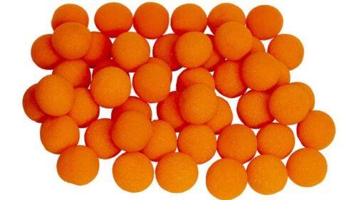 "Orange Magic Trick1/"" Super Soft Sponge Ball Bag of 50 from Magic By Gosh"