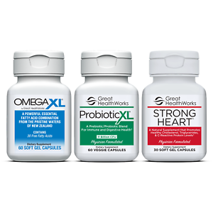 Bundle-Pack-Omega-XL-60-count-Probiotic-XL-60-count-Strong-Heart-30-count