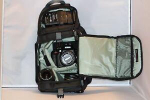 Travel Camera Bag Case Backpack for DSLR SLR Canon EOS Rebel Nikon Sony Pentax