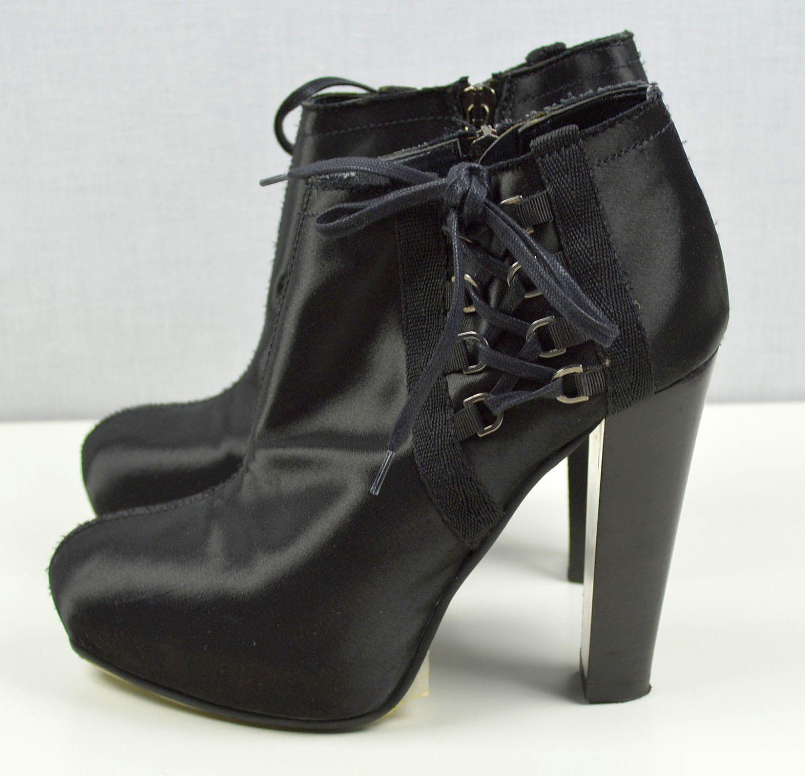 Stefanel Damenschuhe Stiefeletten High Heel Plateau Damen Schuhe 22101601