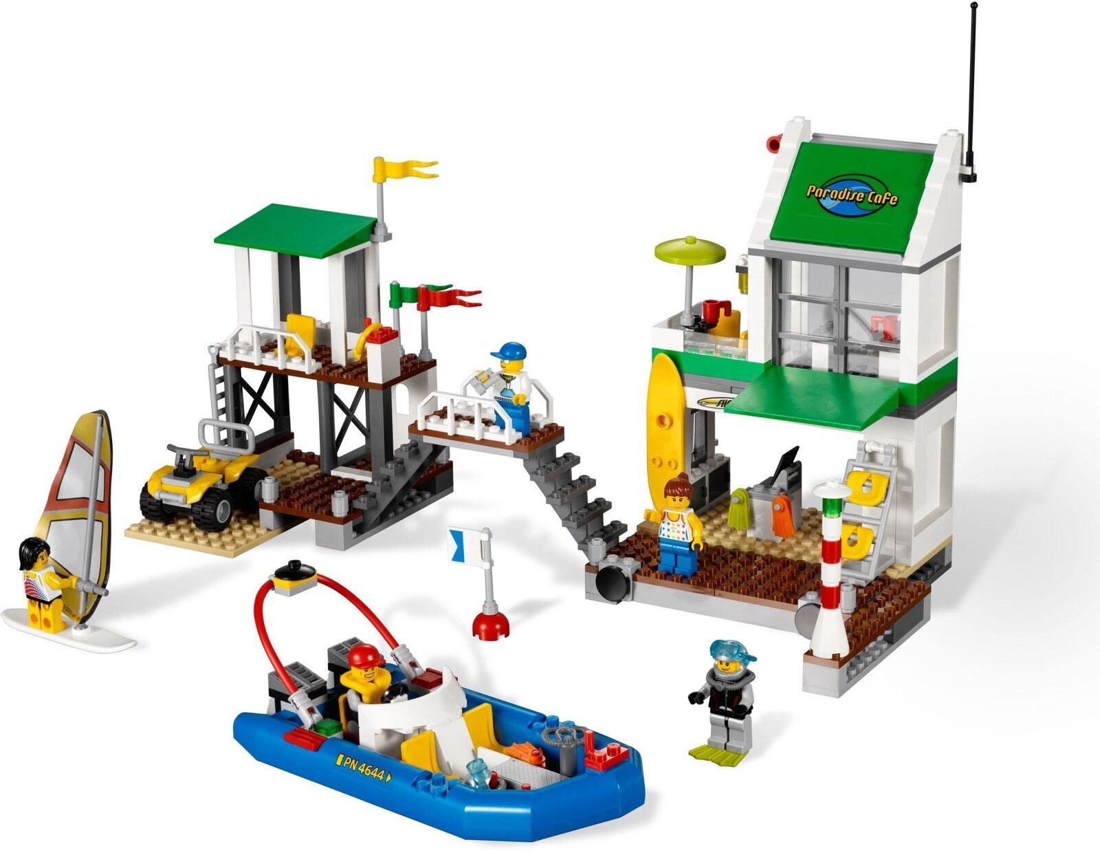 Lego 4644 Marina (Released 2011)