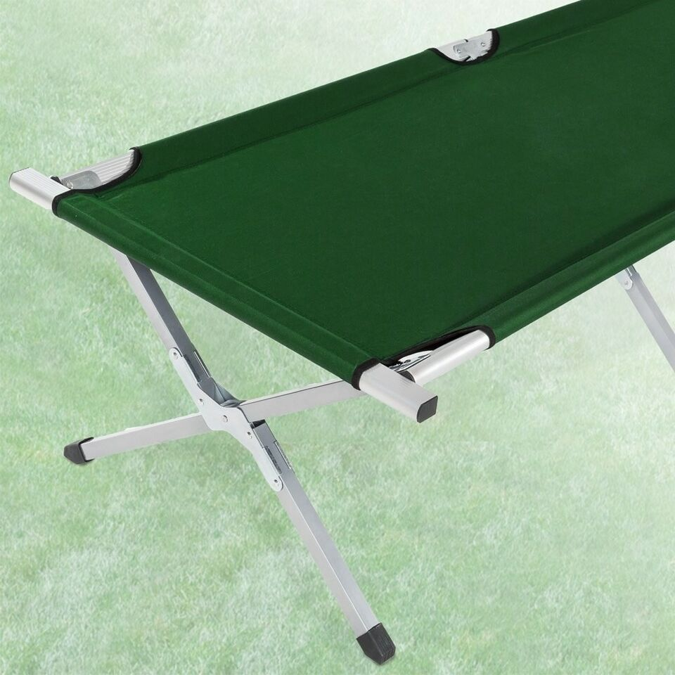 3 Feltsenge i aluminium grøn