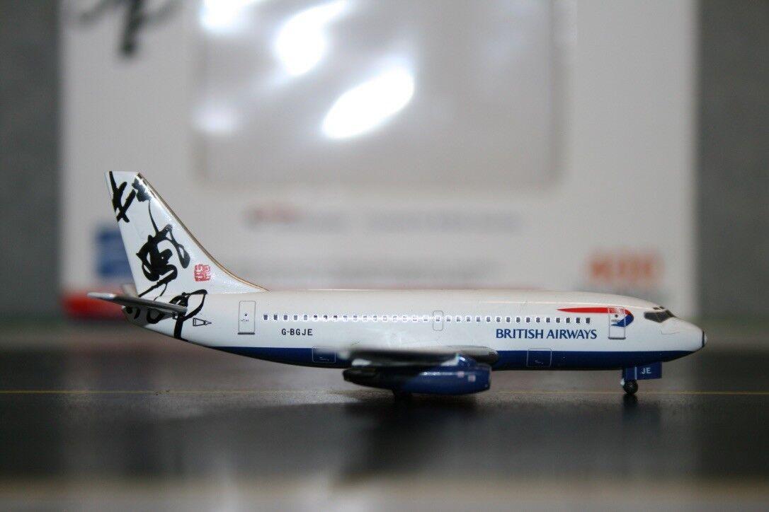 Aviation400 1 400 British Airways Boeing 737-200 G-BGJE  Hong Kong  (AV4732007)