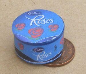 1-12-Scale-Large-Empty-Roses-Sweet-Tin-Tumdee-Dolls-House-Kitchen-Food-Accessory