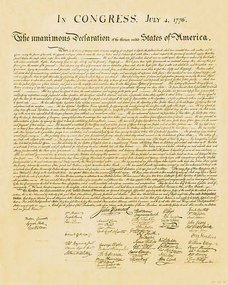 Declaration of Independence Specialty Prints Art Poster Print, 24x30