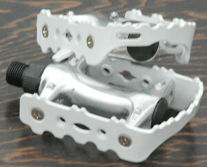 """Green LoDo FiXiE Road Bike Pedals 9//16/"""" Vintage Fixed Gear Track Cruiser Bicycle"""