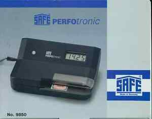 Fully Electronic Perforation Gauge SAFE Perfotronic 2 9850 Brand New