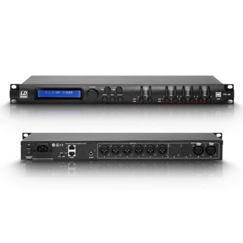 "LD Systems DPA 260-19/"" DSP Controller 6 Kanal"