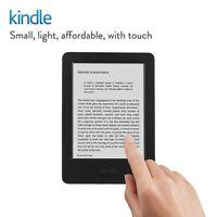 "Kindle E-Reader 6"" Glare-Free Touchscreen Display 4GB Wi-Fi 7th gen. Black!!!"