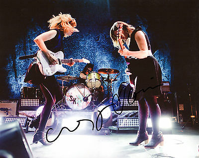 Signed 8x10 Photo Proof S1 Coa Discounts Sale Diplomatic Gfa Carrie Brownstein Band Sleater-kinney