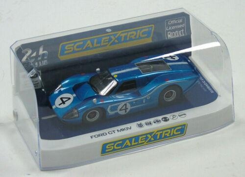C4031 SCALEXTRIC Slot Car Échelle 1:32 FORD GT MKIV 1967 LeMans 24 H #4 H//L Ruby