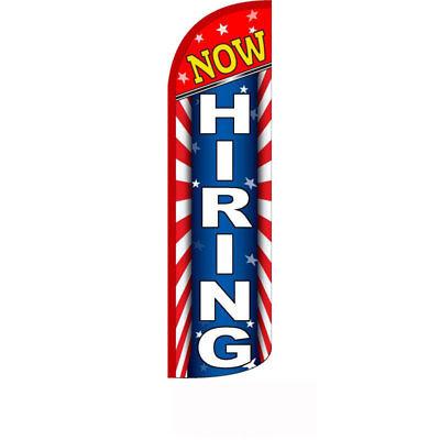 Vacancy Extra Wide Swooper Flag Bundle