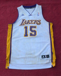 9860bf67c Image is loading Vintage-Adidas-NBA-Lakers-Ron-Artest-15-Jersey-