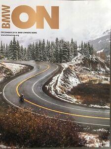 BMW Owners News Magazine BMW MOA - December 2018