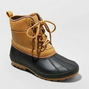 Women's Tiffy Duck Winter Boots - Universal Thread Tan 6