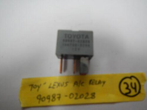 * **TOYOTA LEXUS RELAY 90987-02028 relay-34