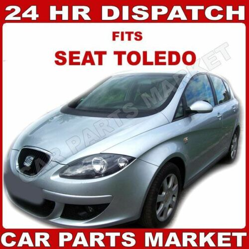 For Seat Toledo 03-09 Left passenger side wing mirror glass with plate