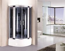 Kokss corner steam shower room 8004-AS 6 hydro massage jets and hand shower