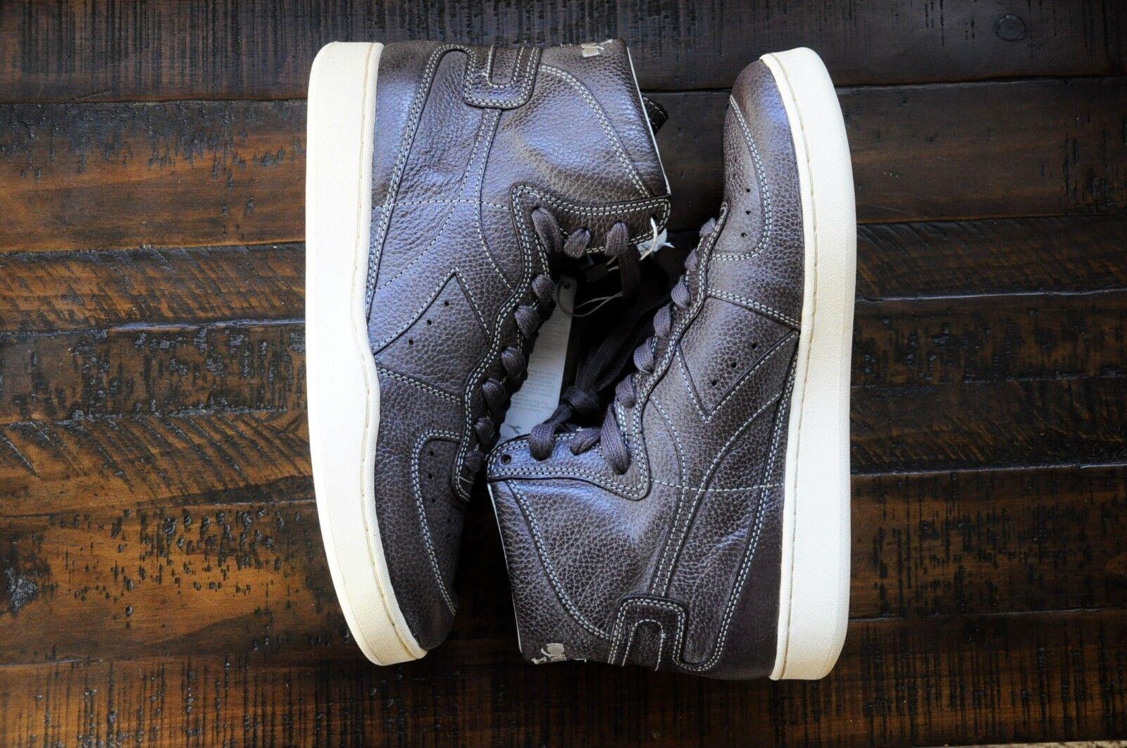 Diadora Heritage Mens Hi Top Sneaker - 100% Leather - MI BASKET Power US 9.5