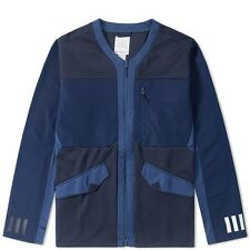 Adidas X White Mountaineering Track Top Cardigan Large Navy Blue L