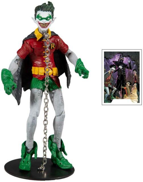 "McFARLANE DC MULTIVERSE BATMAN ROBIN EARTH -22 DARK NIGHTS: METAL 7"" FIGURE"