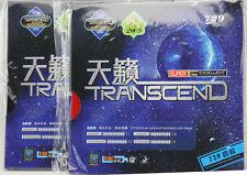 2x Friendship RITC729 Transcend Table Tennis Rubber w/Sponge, Pips-in, New
