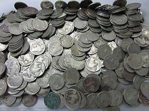 200-Buffalo-Nickel-Lot-Problem-Coins-200-Coins-5-Rolls-BONUS